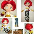 "Disney Toy Story Jessie The Cowgirl Plush Toy Plush Doll Stuffed Doll Stuffed Toy 16"""