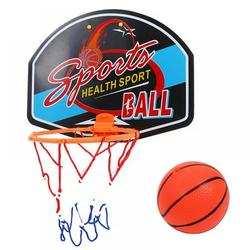 Kozart Easy Score Basketball Toy Set Basketball Hoop (With Basketball,Pump) for Kids Age 1-5 Indoor & Outdoor Basketball Court Game,Rim Diameter 7.48 inch