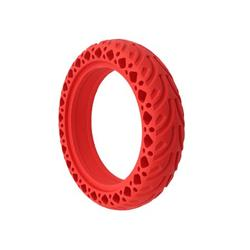 Solid Tire for Xiaomi Electric Scooter 8.5 inches Solid Rubber Scooter Wheel Front or Rear Replacement Honeycomb Solid Tires for Xiaomi Scooters