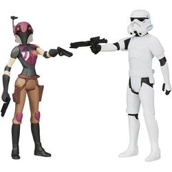 Star Wars Mission Series Figure Set (Sabine Wren and Stormtrooper), The Mission Series figure set includes 2 Star Wars figures By Visit the STAR WARS Store