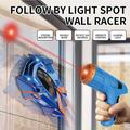VONTER Remote Control Car,Wall Floor RC Car, Laser-Guided Real Wall Climber Race Car,Child Adult Toy Car Rechargeable Racer Remote Control Car Wall & Land Dual-Mode car -Gray