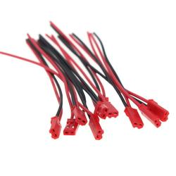 Chinatera 10 Pairs 100mm Male and Female JST Connector Plug for RC Lipo Battery Part