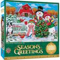 """MasterPieces Holiday Collection - Holiday Tree Farm 19.25"""" x 26.75"""" Jigsaw Puzzle - 1000 Pieces"""