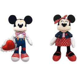Limited Disney Mickey Mouse & Minnie Mouse Plush Set – 2021 Valentine's Day – Medium 16'', Disney Mickey and Minnie Mouse 2021 Valentine plush By Brand Limited