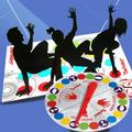 Twister Board Game Children Adult Moves Play Mat Multiplayer Parent-child Interactive Educational Toy Outdoor Sports Party Supplies