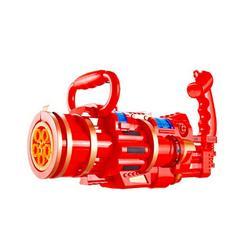 Gatling Bubble Machine, Gatling Bubble Gun 2021 Automatic Electric Bubble Blower Machine Toddler Toy Bubble Gun