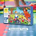 Viugreum Educational Puzzles Fairy Tale Series Non-Toxic Paper Jigsaw
