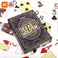 Three A TEXAS HOLD'EM Playing Cards Poker Board Game Playing Cards Party Gathering Game Cards 56Pcs Cards