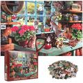 Everso 1000 Piece Puzzle- Cat by the Window - Adults Teens Kids Jigsaw Large Puzzle Toys Fun Family Game
