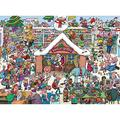 1000 Pieces Puzzles for Adults Christmas Day Eve Wooden Jigsaw Puzzles Challenging Puzzle Large Difficult Puzzles DIY Entertainment Toys Gift for Home Decor 20.5 x 15 Inch