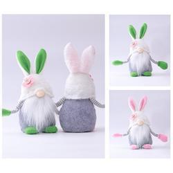 Daily Golf ToolsHare Rabbits Bunnies Ornaments Easter Bunny Handmade 23*10*8cm Swedish Decorations Plush Spring Gnomes