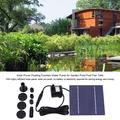 OTVIAP Solar Water Pump, Solar Power Floating Fountain Water Pump for Garden Pond Pool Fish Tank, Fountain Pump