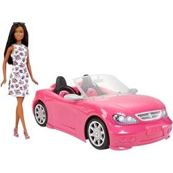 Barbie Doll & Convertible Vehicle Doll & Car, Hit the open road with Barbie doll and her pink convertible! By Brand Barbie