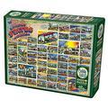 Cobble Hill Puzzles Vintage American Postcards 1000 Piece Collages & Assortments Jigsaw Puzzle