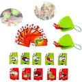 Barka Ave Tic Tac Tongue Board Games, Tic Tac Tongue Catch Bugs Game, Funny Family Game Interactive Toys Gifts for Children