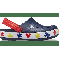 Crocs Navy Kids' Crocs Fun Lab Disney Mickey Lights Clog Shoes