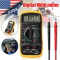Digital Multimeter, Volt Tester Volt Ohm Amp Meter with Continuity, Diode and Resistance Test, Multimeter with Overload Protection,LCD Display