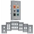 Allen Tel Products ATBKF-VT-6 SS FACPLT 6 PORT VTAP MOD
