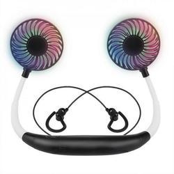 Hazel Tech-fan,neck fan,portable hanging neck fan Personal Neck Fan,Portable Mini Cooler Fan,Hands Free Bladeless Fan Hand Free USB Personal Fan
