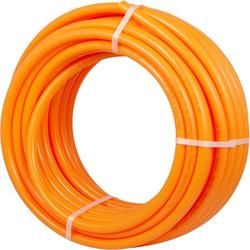 VEVOR Pex Tubing 3/4 inch 100FT Flexible Pex Pipe Orange Non Oxygen Barrier Pex Tube Coil for Hot and Cold Water Plumbing Open Loop Radiant Floor Heating System Pex Piping Pex Water Line 80-160psi
