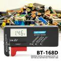 Fugacal Universal Digital LCD AA/AAA/C/D/9V/1.5V Button Cell Battery Volt Tester BT-168D , Battery Volt Tester,Button Cell Battery Volt Tester