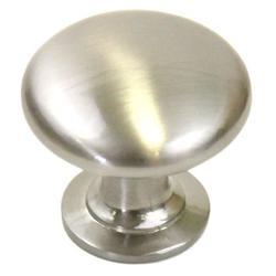 1-1/4 inch Round Stainless Steel Cabinet Knobs 1-1/4-inch Round Circular Design Satin Nickel Cabinet/ Drawer Knobs Handles (Pack of 5)