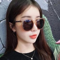 ZDMATHE big round transparent frame sunglasses for women retro brand designer sunglasses big round frame,women metal + plastic frame sun