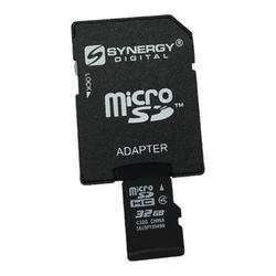 Synergy Digital Cell Phone Memory Card, Works with Panasonic Lumix DMC-CM1 Cell Phone, 32GB Micro SD Secure Digital Memory Card