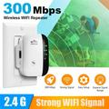 Ielectr 300Mbps Range WiFi Amplifier Blast WiFi WifiBlast Repeater Extender Wireless 2.4GHz Internet Signal Booster Extends the WiFi Range to Full Coverage
