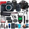 Canon EOS 5D Mark IV DSLR Camera with 24-105mm & 75-300mm Lens Bundle + Battery Grip + Premium Accessory Bundle Including 64GB Memory, Extra Battery, Photo/Video Software Package, Shoulder Bag & More
