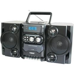 Naxa® Npb428 Portable Mp3/cd Player With Am/fm Radio & Detachable Speakers