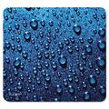 Mouse Pad, Raindrop - Blue (30182), Cloth Pad Made With 40% Postindustrial Waste By Allsop