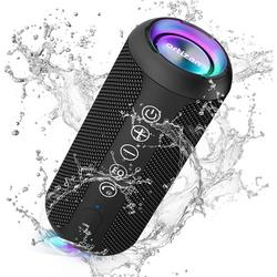 Ortizan Portable Bluetooth Speaker, IPX7 Waterproof Wireless Speaker with 24W Loud Stereo Sound, Outdoor Sport Speakers with Bluetooth 5.0, 30H Playtime,66ft Bluetooth Range,TWS Pairing for Home,Party
