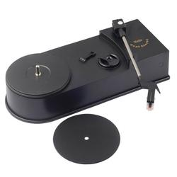 Carevas Mini Retro USB Turntable Record Player with Speaker Vinyl Turntables Audio Players Phonograph Convert Vinyl LP to MP3/WAV Plug and