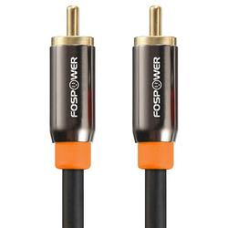 FosPower RCA Male to RCA Male S/PDIF Digital Audio Coax Cable for Home Theater, HDTV, Subwoofer, Hi-Fi Systems - 10 Feet