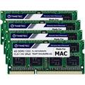 Timetec Hynix IC 16GB KIT(4x4GB) Compatible for Apple DDR3 1333MHz PC3-10600 for iMac (Mid 2010 27 inch, Mid 2011 21.5/27 inch) MAC SODIMM Upgrade MAX Slots Upgrade for iMac 11,3 iMac 12,1 iMac 12, 2