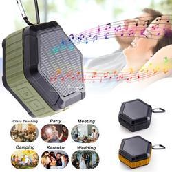 Waterproof Bluetooth Speaker, Speaker Bluetooth Wireless with Strong Bass, Bluetooth Speakers Portable Speakers for Outdoors, Travel