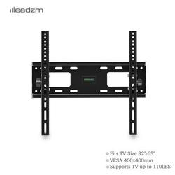 TV Mount for Most 32-65 Inches TVs, Universal Tilt TV Wall Mount Studs with Loading 110 lbs & Max VESA 400x400mm,Low Profile Wall Mount Bracket