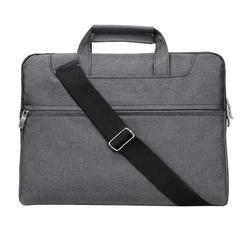 Hazel Tech--13.3 Inch Laptop Shoulder Bag Compatible with 13-13.3 Inch Laptops/Dell Inspiron 13 XPS 13, Polyester Sleeve Case with Back Trolley Belt