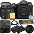 Nikon D500 DSLR Camera with AF-P DX NIKKOR 18-55mm VR Lens Bundle Includes: Extra Battery, Extreme 32GB SD and FREE UV Filter