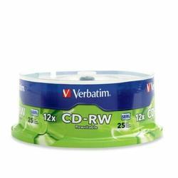 Verbatim 95155 12x Cd-rw Media - 700mb - 120mm Standard