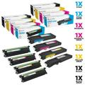 Ld compatible 331-8429 black, 331-8432 cyan, 331-8431 magenta, 331-8430 yellow extra hy toner & 331-8434 drum unit set (4 toners & 4 drums) for color laser c3760dn, c3760n & c3765dnf