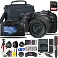 Canon EOS RP Mirrorless Digital Camera with 24-105mm f/4-7.1 Lens + Extra Canon Battery, Creative Filters + EOS Camera Bag + Sandisk Extreme Pro 64GB Card + 6AVE Cleaning Set, + More