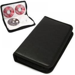 80 Capacity CD Case Storage DVD Organizer Case, DVD Case Organizer CD/DVD Case DVD Booklet CD/DVD Holder Case DVD Book Heavy Duty DVD Case Book Wallet
