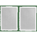 """Polk High-Performance 8"""" 2 Way Natural Surround Sound Architectural In-Wall Speaker System (pair)"""