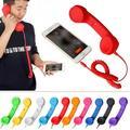 Deepablaze Retro Telephone Handset 3.5 mm Wired Mic Receiver For iPhone Android Phones Handset Speaker Phone Call