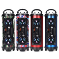 LED Wireless Portable bluetooth Speaker Stereo Super Bass HIFI AUX FM Sondbar US-Blue