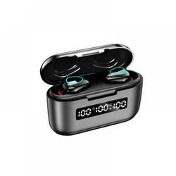 Yinrunx Tws G40 Wireless Headphone Bluetooth Headset Earbuds 9d Hd Touch Contorl Led Bluetooth 5.1 Earphone Universal Headphones Earbuds Bluetooth Boltune Wireless Earbuds Wireless Ear Buds(Black)