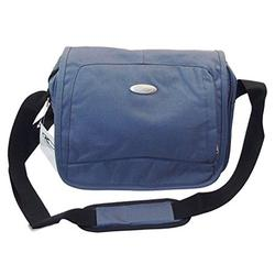 Compact Messenger Bag, Traveling Bag for Men and Women, Polyester Cross-Body Bag- Casual School Bag, Shoulder Messenger Bag, Satchel Bag, Book Bag, Small Laptop Bag, Working Bag - Grey.