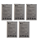 KIT 5x LG BL-47TH Li-ion Battery 3200mAh for Optimus G Pro (Refurbished)